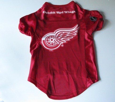 Detroit Red Wings  Pet Dog Hockey Jersey Premium Large Gift