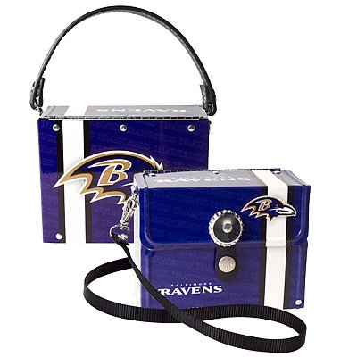 Baltimore Ravens Littlearth Fanatic License Plate Purse Bag