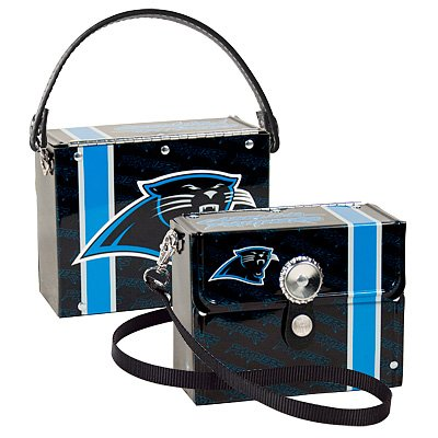 Carolina Panthers Littlearth Fanatic License Plate Purse Bag Gift