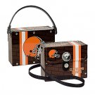 Cleveland Browns Littlearth Fanatic License Plate Purse Bag