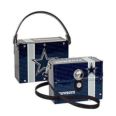 Dallas Cowboys Littlearth Fanatic License Plate Purse Bag