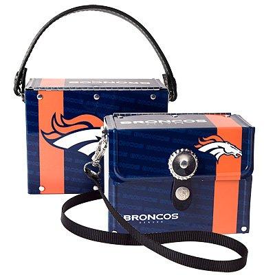 Denver Broncos Littlearth Fanatic License Plate Purse Bag
