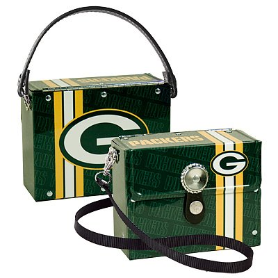 Green Bay Packers Littlearth Fanatic License Plate Purse Bag