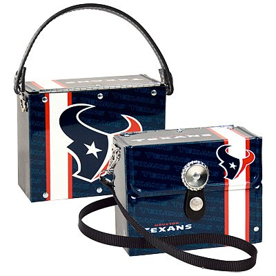 Houston Texans Littlearth Fanatic License Plate Purse Bag Gift