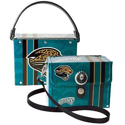 Jacksonville Jaguars Littlearth Fanatic License Plate Purse Bag Gift