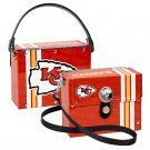 Kansas City Chiefs Littlearth Fanatic License Plate Purse Bag Gift