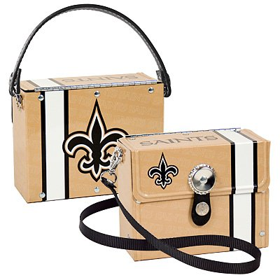 New Orleans Saints Littlearth Fanatic License Plate Purse Bag Gift