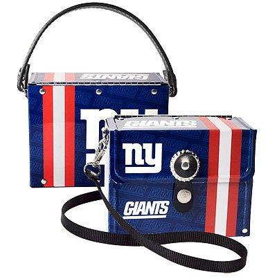 New York Giants Littlearth Fanatic License Plate Purse Bag