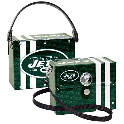 New York Jets Littlearth Fanatic License Plate Purse Bag Gift