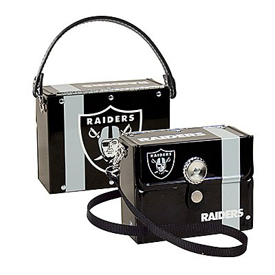 Oakland Raiders Littlearth Fanatic License Plate Purse Bag Gift