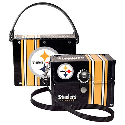 Pittsburgh Steelers Littlearth Fanatic License Plate Purse Bag