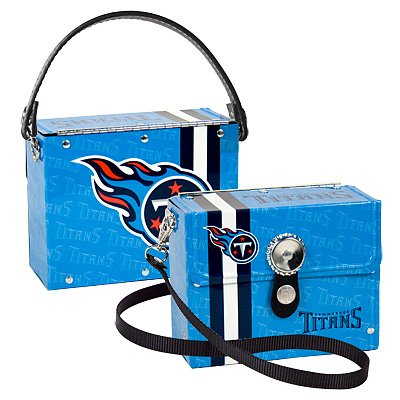 Tennessee Titans Littlearth Fanatic License Plate Purse Bag