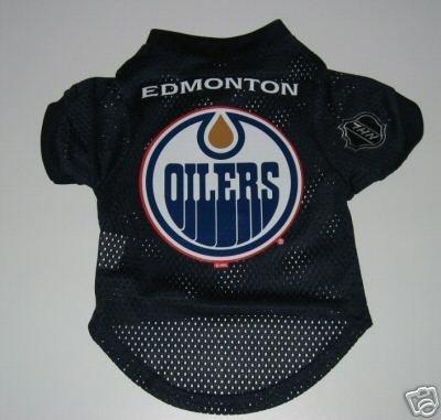 Edmonton Oilers Pet Dog Hockey Jersey Gift Size Medium