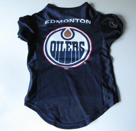 Edmonton Oilers Pet Dog Hockey Jersey Premium Large Gift