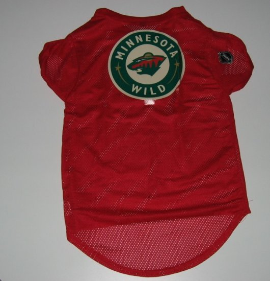 Minnesota Wild Pet Dog Hockey Jersey Gift Size XL