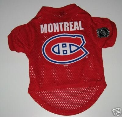 Montreal Canadiens Pet Dog Hockey Jersey Gift Size Large