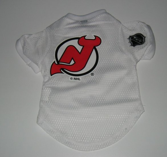 New Jersey Devils Pet Dog Hockey Jersey Gift Size Large