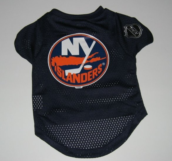 New York Islanders Pet Dog Hockey Jersey Gift Size Large