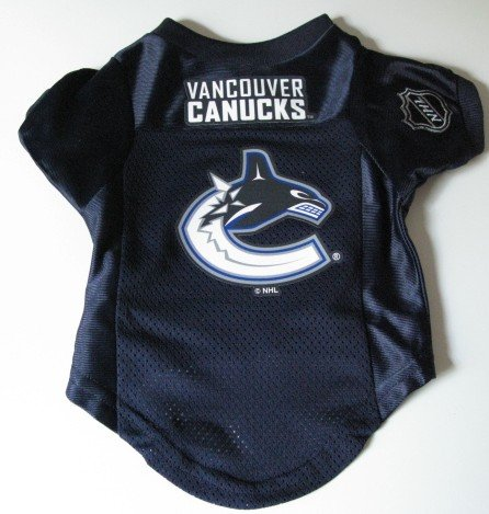 Vancouver Canucks Pet Dog Hockey Jersey Premium Small Gift