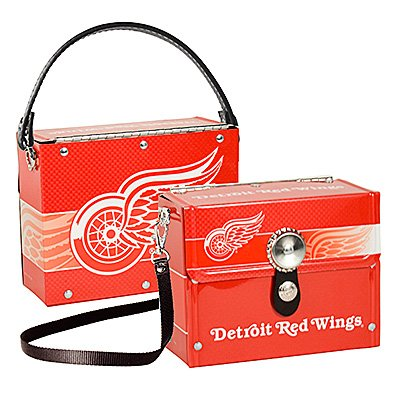 Detroit Red Wings Littlearth Fanatic License Plate Purse Bag