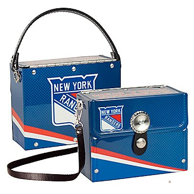 NY New York Rangers Littlearth Fanatic License Plate Purse Bag Gift