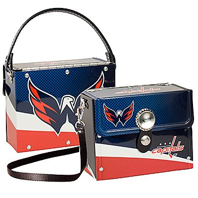 Washington Capitals Littlearth Fanatic License Plate Purse Bag Gift