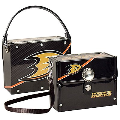 Anaheim Ducks Littlearth Fanatic License Plate Purse Bag Gift