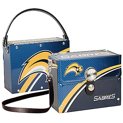 Buffalo Sabres Littlearth Fanatic License Plate Purse Bag Gift