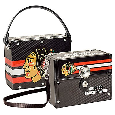 Chicago Blackhawks Littlearth Fanatic License Plate Purse Bag Gift
