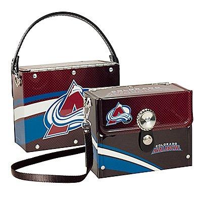 Colorado Avalanche Littlearth Fanatic License Plate Purse Bag Gift
