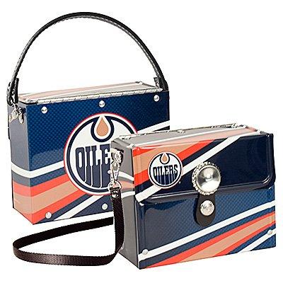 Edmonton Oilers Littlearth Fanatic License Plate Purse Bag Gift