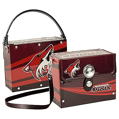 Phoenix Coyotes Littlearth Fanatic License Plate Purse Bag Gift
