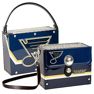 St. Louis Blues Littlearth Fanatic License Plate Purse Bag Gift