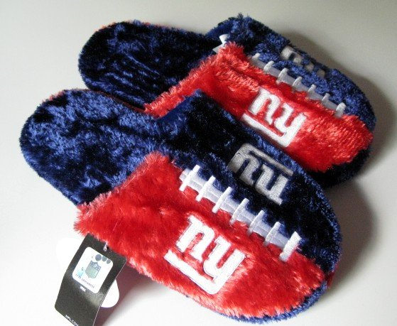 NY New York Giants Football Himo Slide Slippers Gift Large