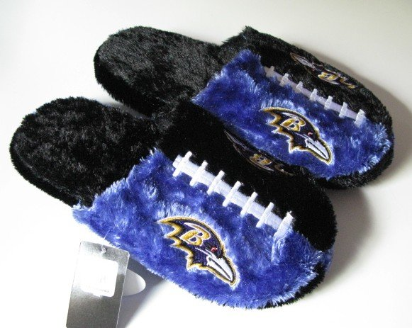 Baltimore Ravens Football Himo Slide Slippers Gift Large