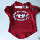 Montreal Canadiens Pet Dog Hockey Jersey Premium Medium Gift