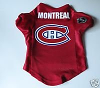Montreal Canadiens Pet Dog Hockey Jersey Premium Medium Gift