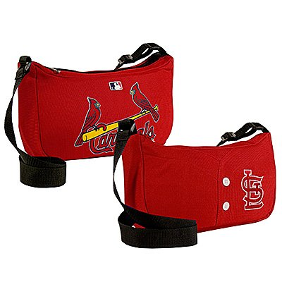 St. Louis Cardinals Littlearth Baseball Jersey Purse Bag