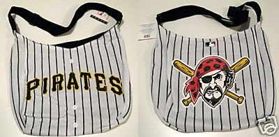 Pittsburgh Pirates Littlearth Home Run Baseball Jersey Tote Bag Gift
