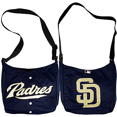 San Diego Padres Littlearth Home Run Baseball Jersey Tote Bag Gift