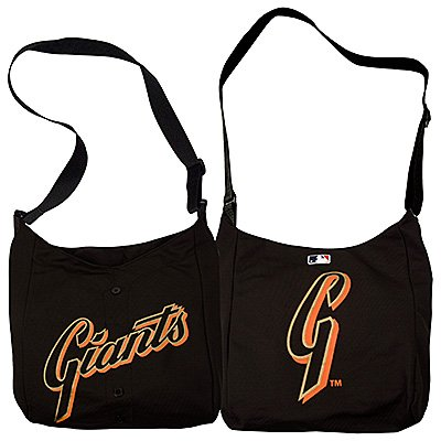 San Francisco Giants Littlearth Home Run Baseball Jersey Tote Bag Gift