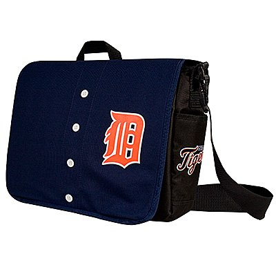 Detroit Tigers Littlearth Baseball Jersey Messenger Bag Gift