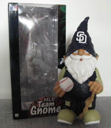 San Diego Padres Garden Gnome Figure Indoor/Outdoor Gift