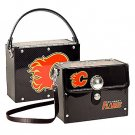 Calgary Flames Littlearth Fanatic License Plate Purse Bag Gift