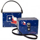 Texas Rangers Littlearth Fanatic License Plate Purse Bag Gift