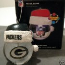 Green Bay Packers Light Up Water Globe Christmas Ornament Gift