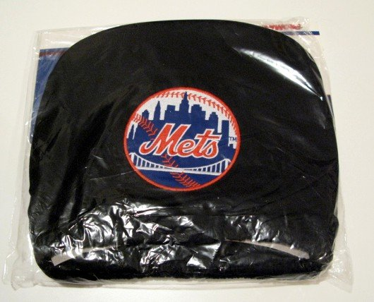 New York Mets Auto Car Head Rest Covers Set Gift