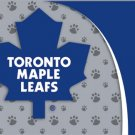 Toronto Maple Leafs Dog Pet Food/Water Padded Mat Placemat Gift