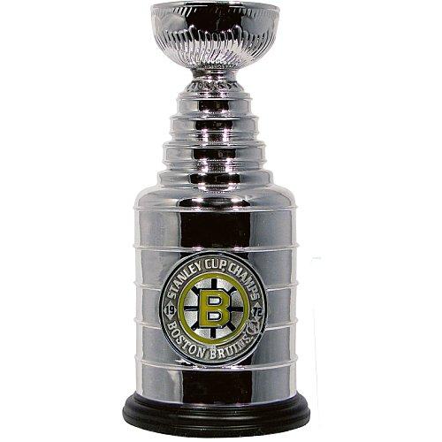 """Boston Bruins Mini Stanley Cup Replica 8"""" Collectible 1972"""