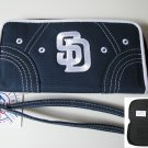 San Diego Padres Littlearth CAPtivate Wristlet Wallet
